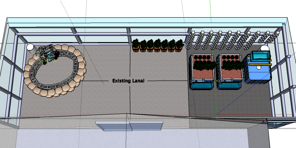 Planned Expansion of Patio Aquaponics System