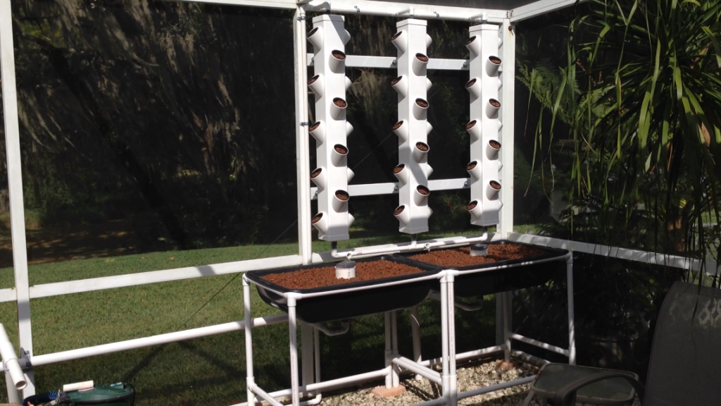 Small Beginnings - Our first aquaponics system